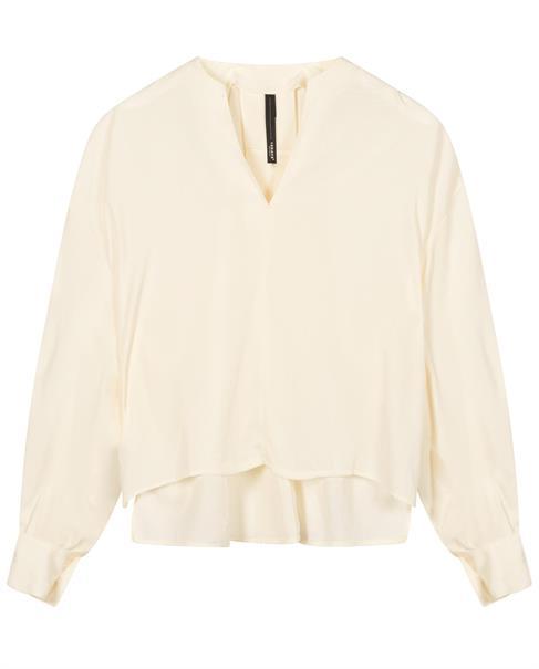 10 Days blouse 20-403-1201 in het Zwart / Wit