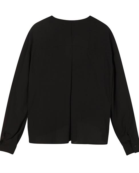 10 Days blouse 20-403-1201 in het Zwart