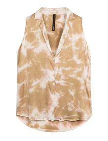 10 Days blouse 20-412-1201 in het Wit/Beige