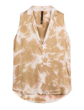 10 Days blouse 20-412-1201 in het Wit/Beige