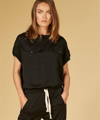 10 Days blouse 20-414-1201 in het Zwart