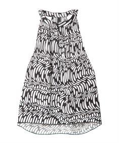 10 Days blouse 20-457-0201 in het Zwart / Wit