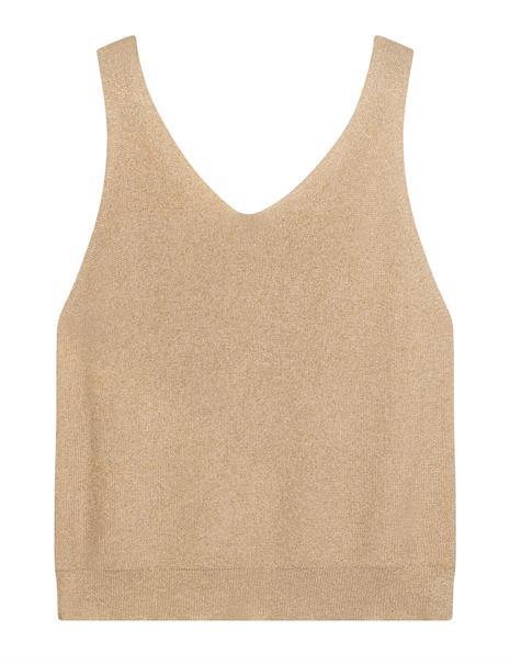 10 Days blouse 20-614-1201 in het Goud