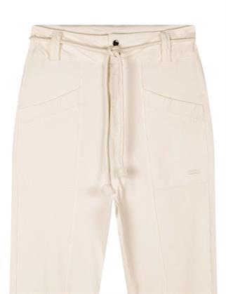 10 Days flared en wijde broeken 20-008-1202 in het Zwart / Wit