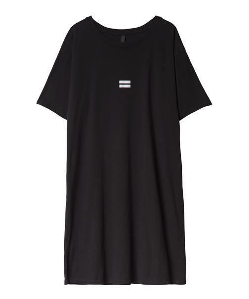 10 Days jurk 20-304-0201 in het Zwart