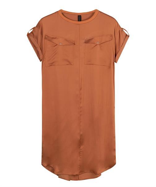 10 Days jurk 20-304-1201 in het Brique