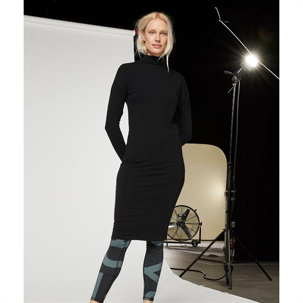 10 Days jurk 20-331-9103 in het Zwart