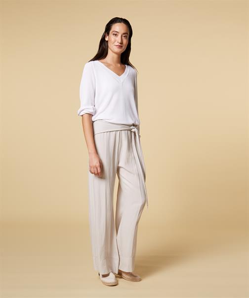 10 Days pantalons 20-046-1201 in het Wit