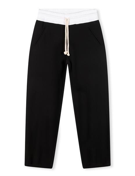 10 Days pantalons 20-049-1204 in het Zwart