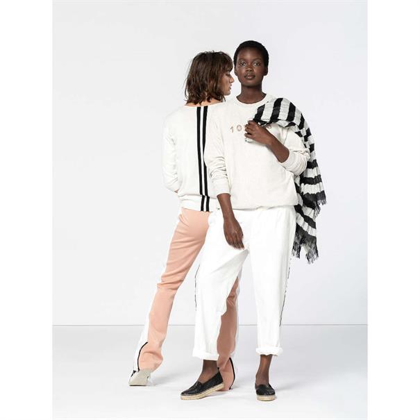 10 Days pantalons 20-052-9101 in het Offwhite