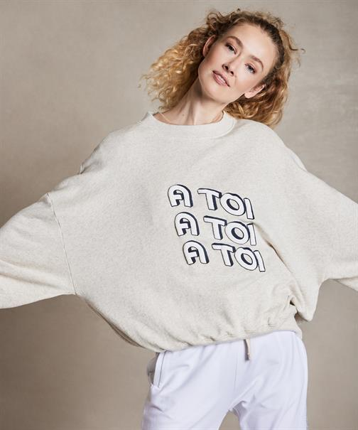 10 Days sweater 20-801-1204 in het Wit