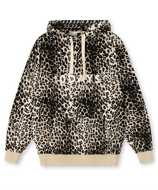 10 Days sweater 20-803-1203 in het Zwart / Wit