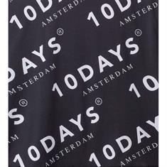10 Days tops 20-706-9101 in het Zwart / Wit