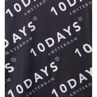 10 Days tops 20-706-9101 in het Zwart / Wit