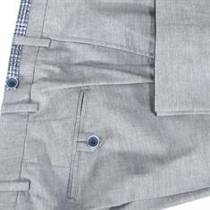 7Square broek 242002-pant in het Licht Grijs