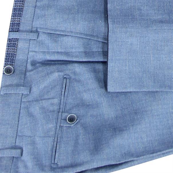 7Square broeken 242002-pant in het Licht Blauw