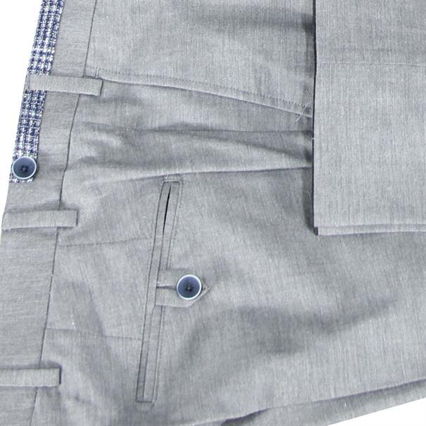 7Square broeken Slim Fit 242002-pant in het Licht Grijs