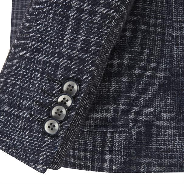 7Square colberts Slim Fit 118002 in het Donker Blauw