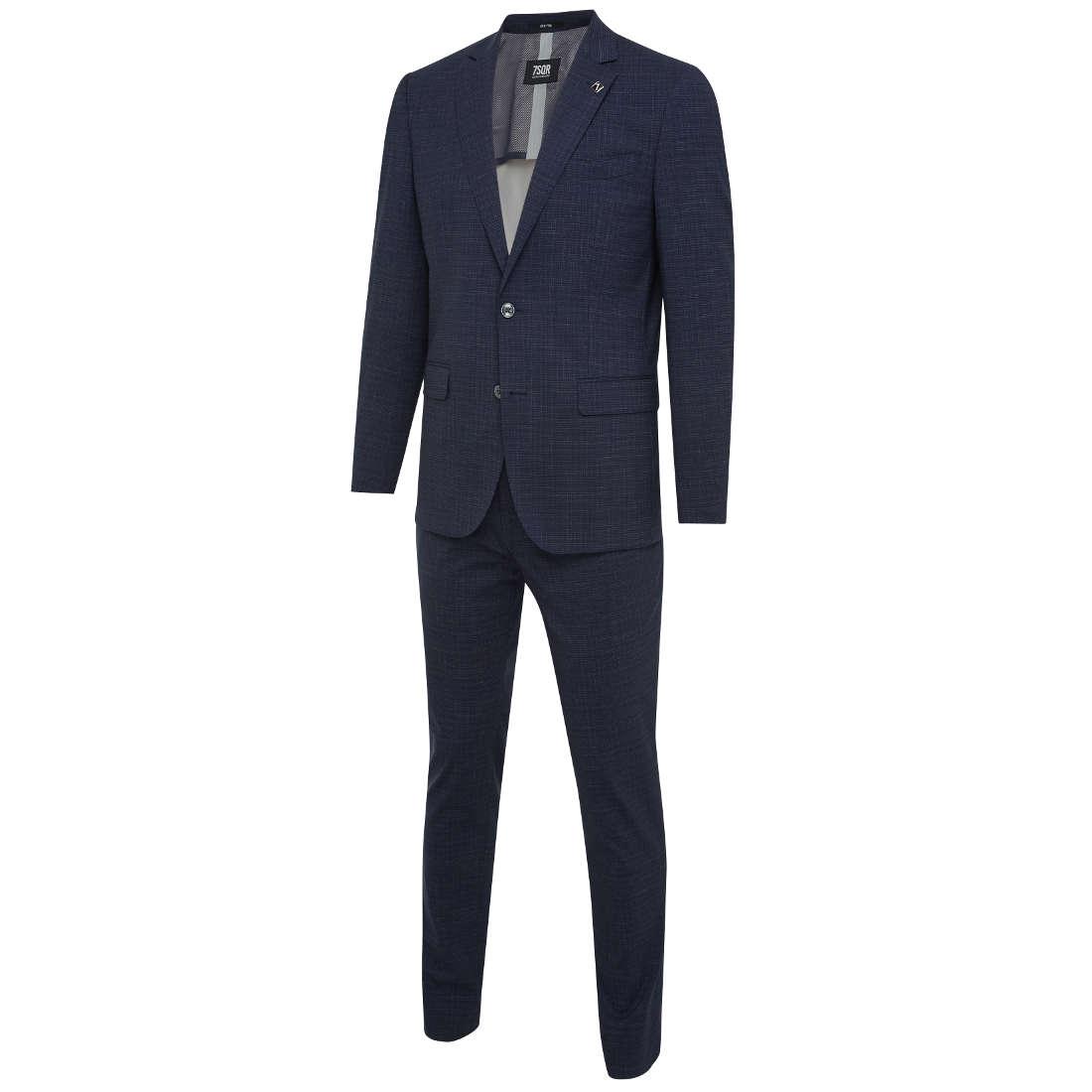 Smit Mode:  7Square kostuum 21026802 203023 in het Donker Blauw