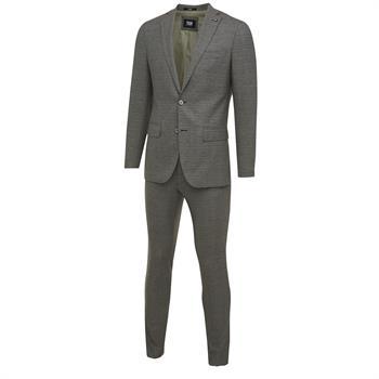 7Square kostuum Slim Fit 22001802-203051 in het Groen