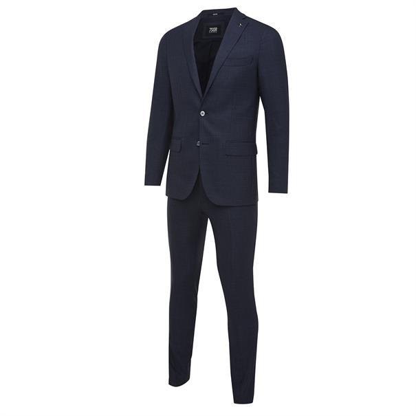 7Square kostuum Slim Fit 22001802-203055 in het Donker Blauw