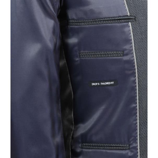 7Square kostuum Tailored Fit 233040 in het Grijs