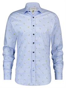 A Fish named Fred casual overhemd Tailored Fit 20.02.026 in het Licht Blauw