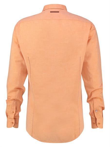 A Fish named Fred overhemd 20.02.048 in het Oranje