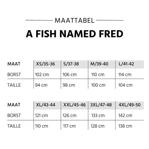 A Fish named Fred overhemd 84-004 in het Donker Blauw