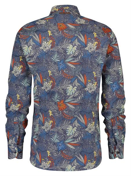 A Fish named Fred overhemd Tailored Fit 20.01.015 in het Multicolor