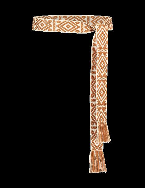 Aaiko accessoire ETHNIC ROPE PES 6 in het Brique