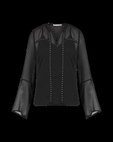 Aaiko blouse CASSIE RPET 523 in het Zwart