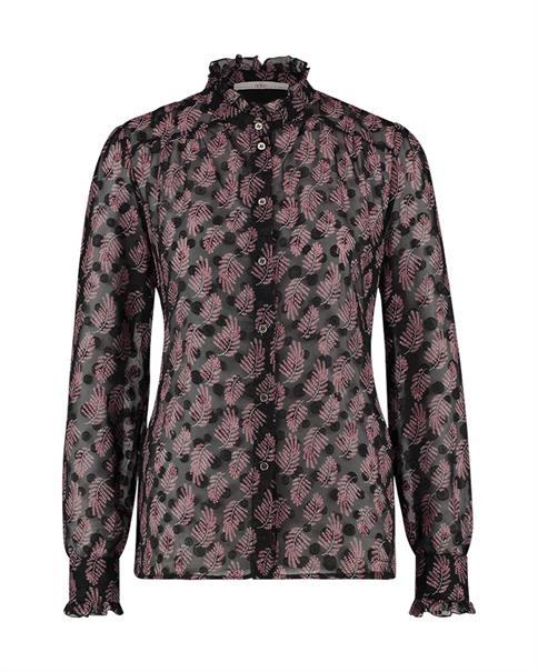 Aaiko blouse CATALIN PES 637 in het Zwart