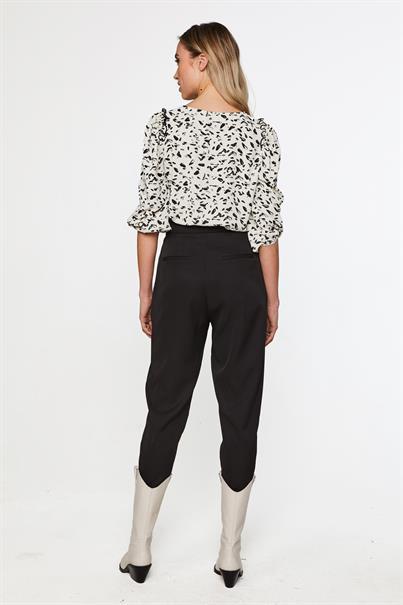 Aaiko blouse DEBBY PES 629 in het Zwart