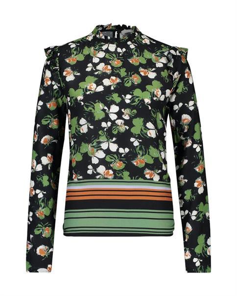 Aaiko blouse FARIA VIS 548 in het Mint Groen