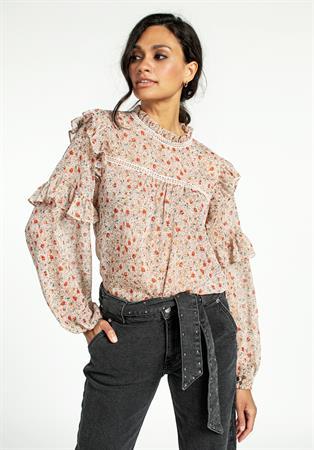 Aaiko blouse FIENNA PES 512 in het Wit