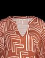 Aaiko blouse GRAZIELLA VIS 516 in het Brique