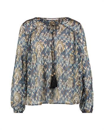 Aaiko blouse ISAYA PES 527 in het Taupe