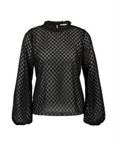 Aaiko blouse JALIZE PES 511 in het Zwart