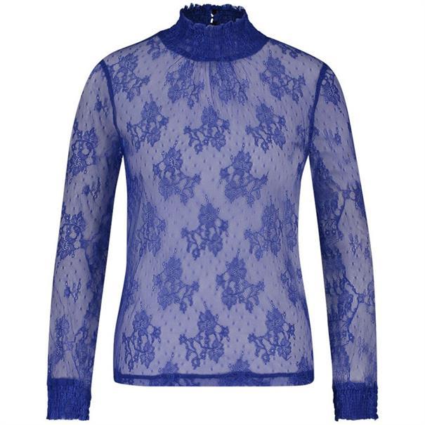 Aaiko blouse leas in het Kobalt