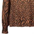Aaiko blouse MEDELIN VIS 520 in het Bruin