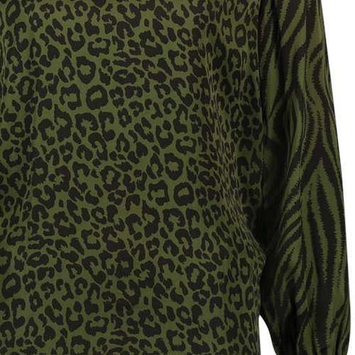 Aaiko blouse MEDELIN VIS 520 in het Mint Groen