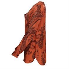 Aaiko blouse MERIDA PAISLEY VI in het Rood
