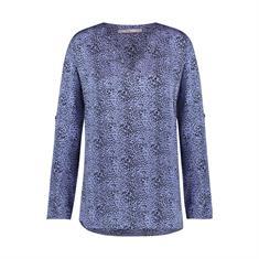 Aaiko blouse meride leo in het Lila