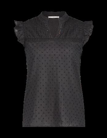 Aaiko blouse PENIMA CO 511 in het Zwart