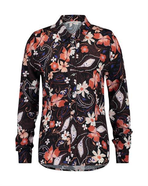 Aaiko blouse PINOU VIS 575 in het Rood