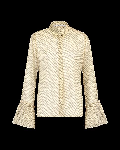 Aaiko blouse RUTH PES 526 in het Beige