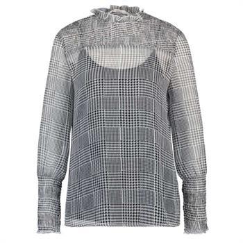 Aaiko blouse SAGARI VIS 544 in het Zwart