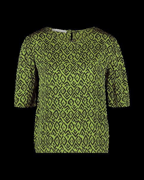 Aaiko blouse SHYNELLE GRAPHIC in het Groen
