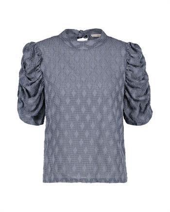 Aaiko blouse SOYIN DIAMOND PES in het Hemels Blauw